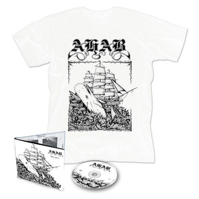 AHAB - Live Prey / Digipak + T-Shirt Bundle