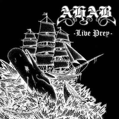 AHAB - Live Prey / Embroidered Patch