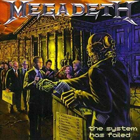 MEGADETH - The System Has Failed / LP