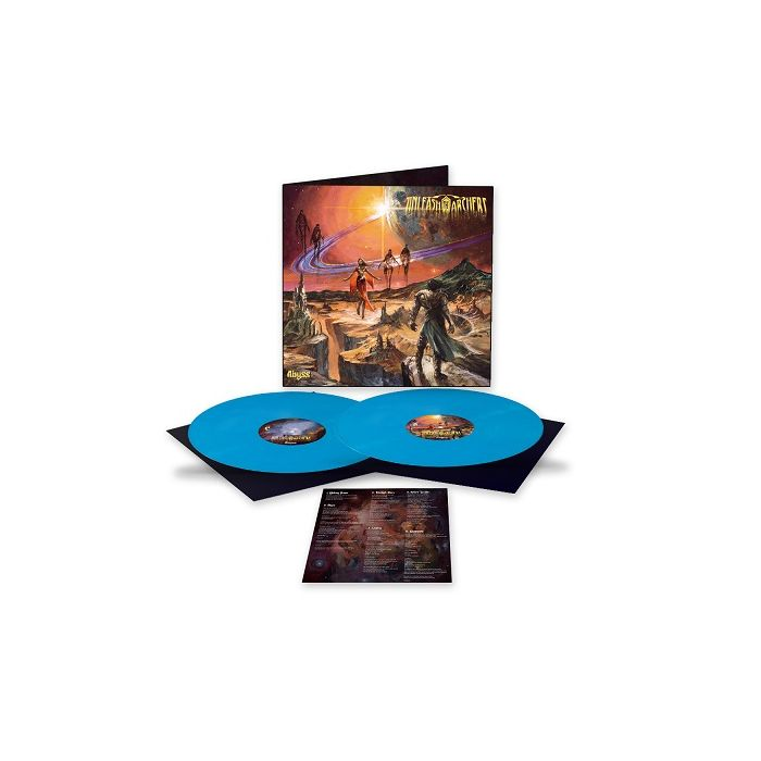 UNLEASH THE ARCHERS-Abyss / LIMITED EDITION SKY BLUE Gatefold 2LP