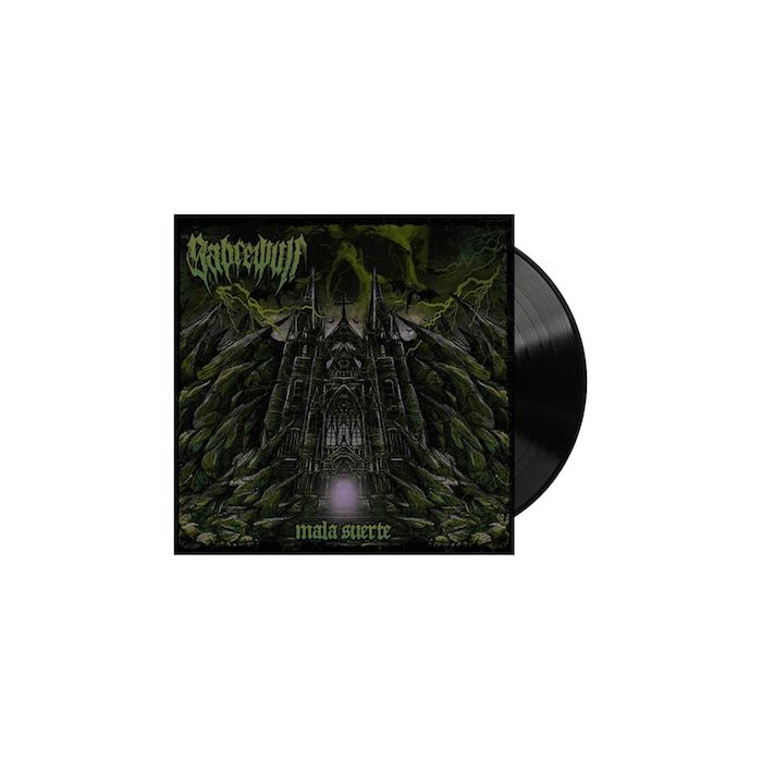 SABREWULF - Mala Suerte / Black LP