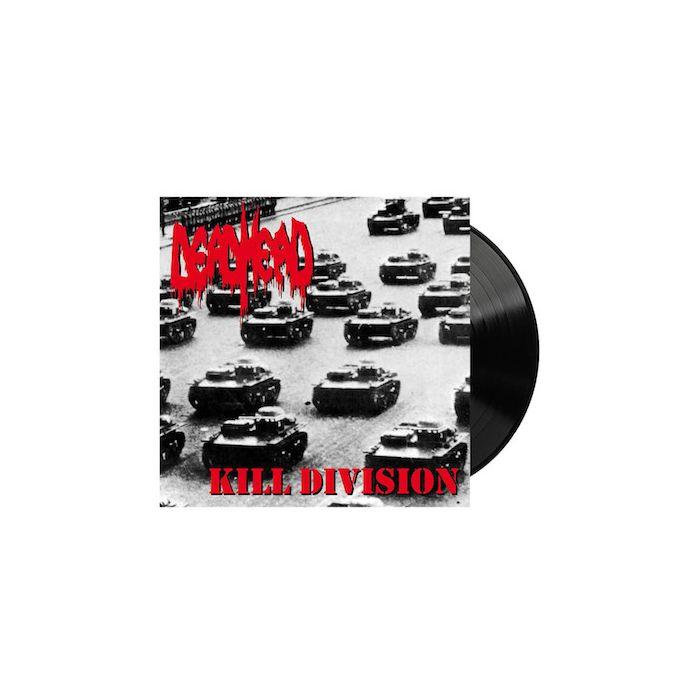 DEAD HEAD - Kill Division / Black LP