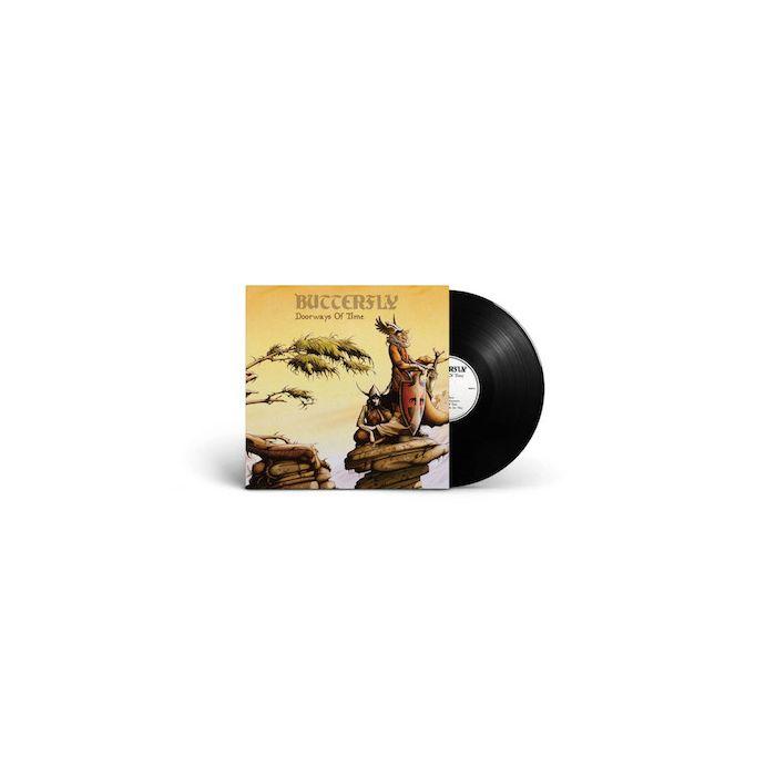 BUTTERFLY - Doorways Of Time / BLACK LP