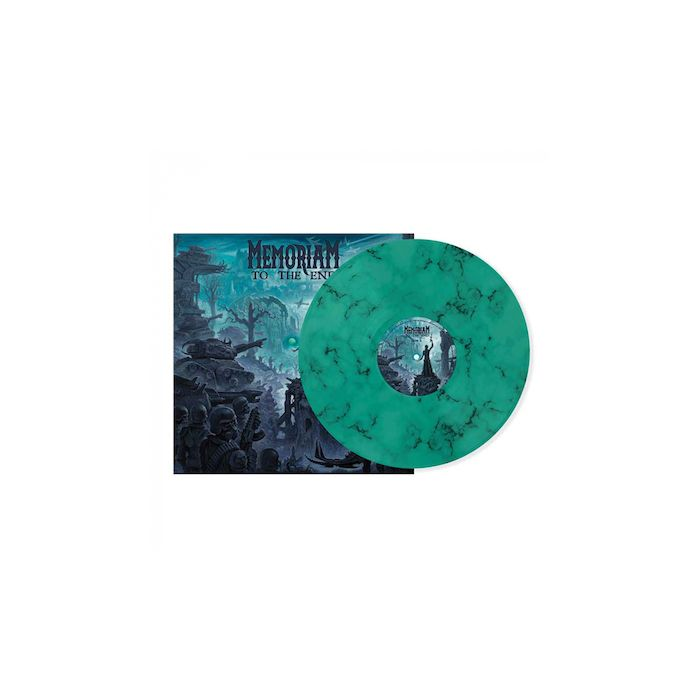 MEMORIAM - To The End / MINT BLACK MARBLE LP