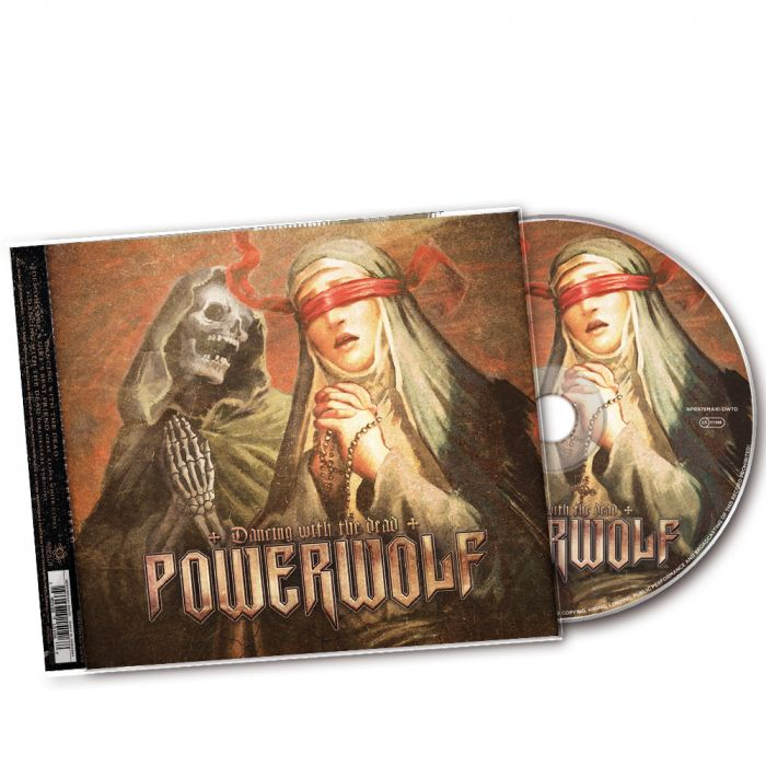 POWERWOLF - Dancing With The Dead / Maxi Single CD