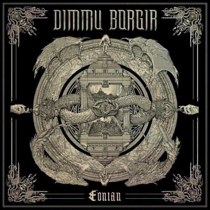 DIMMU BORGIR - Eonian / Black+Bone Swirl LP