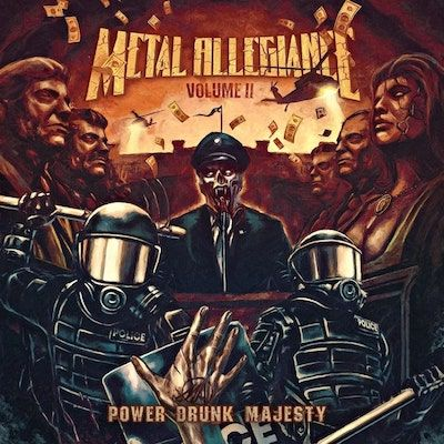 METAL ALLEGIANCE - Vol II: Power Drunk Majesty / CD