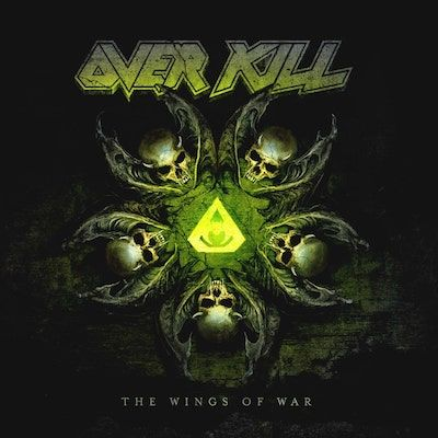 OVERKILL - The Wings Of War / GREY 2LP