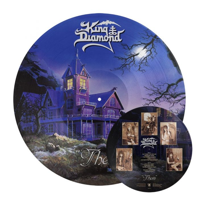 KING DIAMOND - Them / Picture Disc LP
