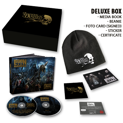 LEGION OF THE DAMNED-Slaves Of The Shadow Realm/Limited Edition Deluxe Boxset
