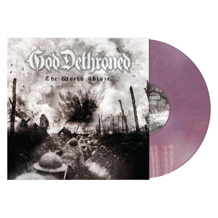 GOD DETHRONED - The World Ablaze / Violet LP