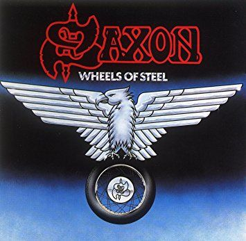 SAXON - Wheels Of Steel / LP