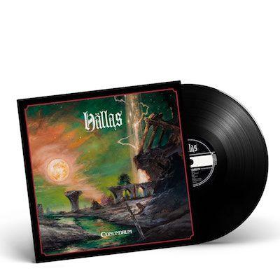 HÄLLAS - Conundrum / BLACK LP