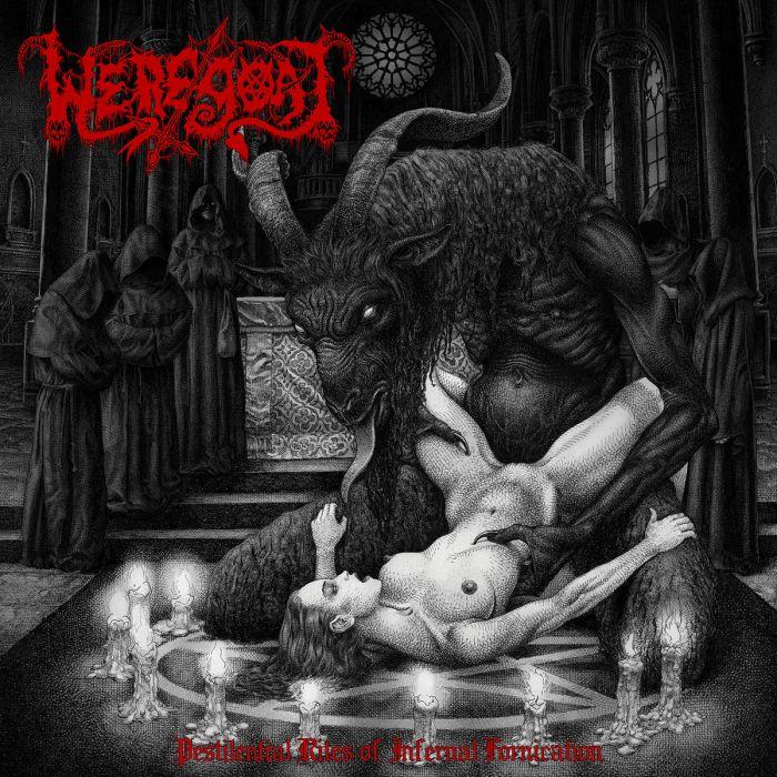WEREGOAT - Pestilential Rites of Infernal Fornication / IMPORT LP