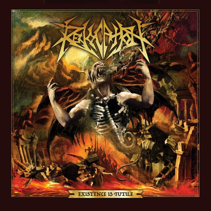 REVOCATION - Existence Is Futile / Amber Marble LP
