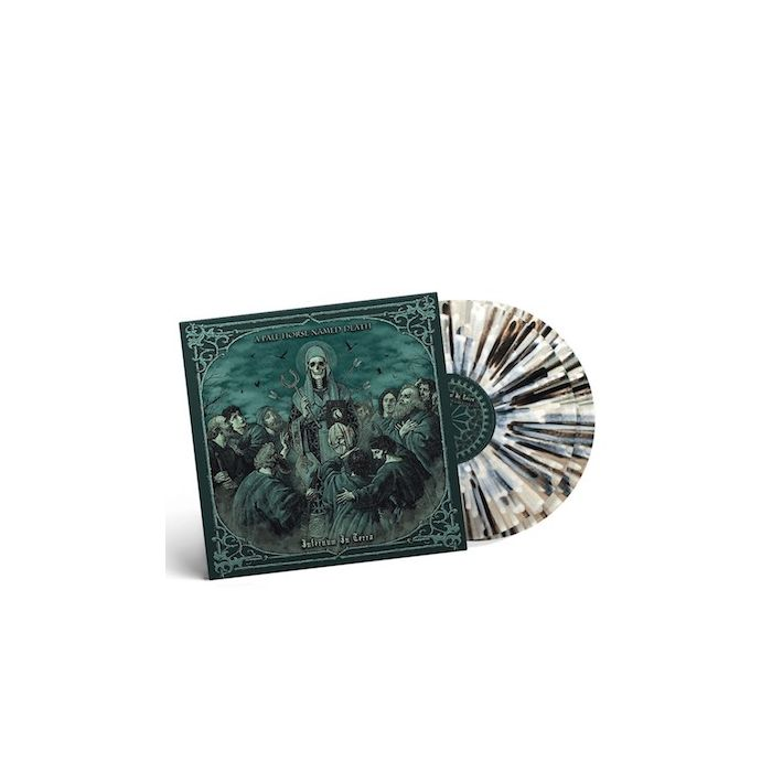 A PALE HORSE NAMED DEATH - Infernum In Terra / NAPALM RECORDS EXCLUSIVE CLEAR BLACK WHITE SPLATTER 2LP PRE-ORDER RELEASE DATE 9/24/21