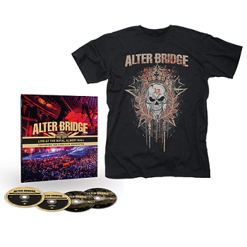 ALTER BRIDGE-Live At The Royal Albert Hall (Featuring The Parallax Orchestra)/Limited Edition Earbook + T-Shirt Bundle