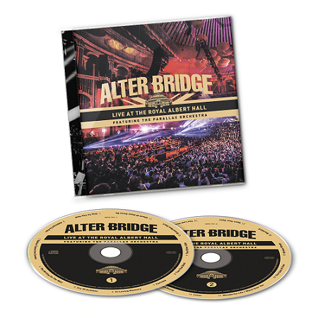 ALTER BRIDGE-Live At The Royal Albert Hall (Featuring The Parallax Orchestra)/2CD