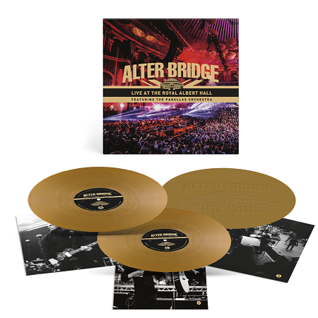 ALTER BRIDGE-Live At The Royal Albert Hall (Featuring The Parallax Orchestra)/Limited Edition GOLD Vinyl Gatefold 3LP