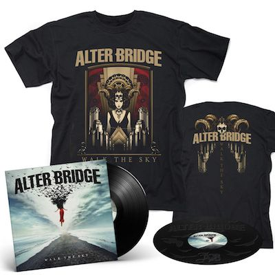 ALTER BRIDGE - Walk The Sky / BLACK 2LP + Walk The Sky T-Shirt Bundle