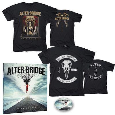 ALTER BRIDGE - Walk The Sky / Limited Edition Earbook + Walk The Sky T-Shirt + Bird T-Shirt Bundle