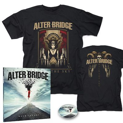 ALTER BRIDGE - Walk The Sky / Limited Edition Earbook + Walk The Sky T-Shirt Bundle