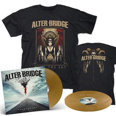 ALTER BRIDGE - Walk The Sky / Limited Edition Gold 2LP + Walk The Sky T-Shirt Bundle