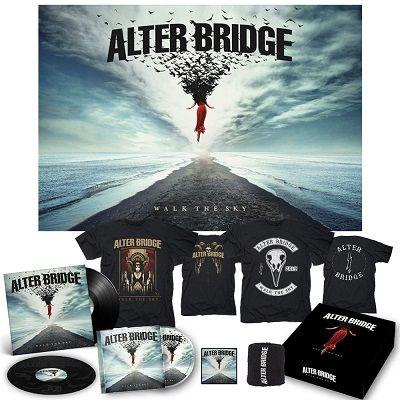 ALTER BRIDGE - Walk The Sky /Deluxe Boxset + Black 2LP + Walk The Sky T-Shirt + Bird T-Shirt Diehard Bundle