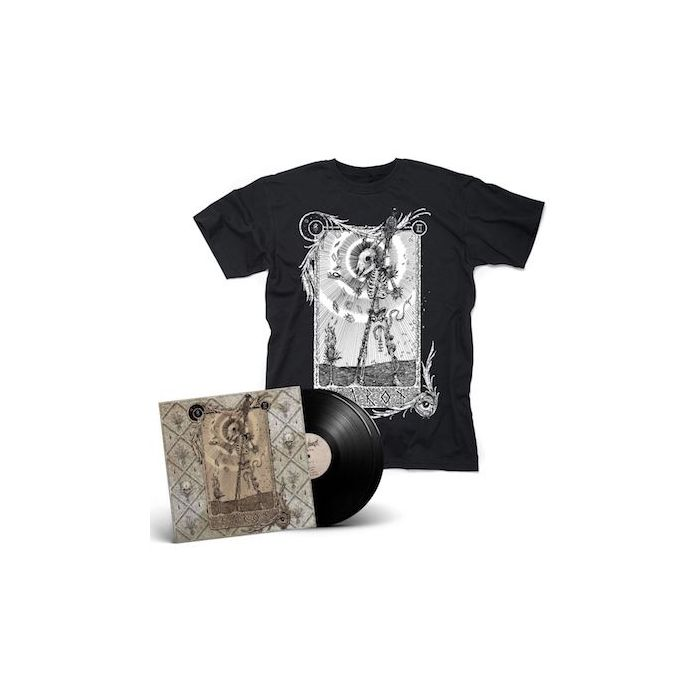 AETHER REALM - Tarot / BLACK 2LP + T-Shirt Bundle