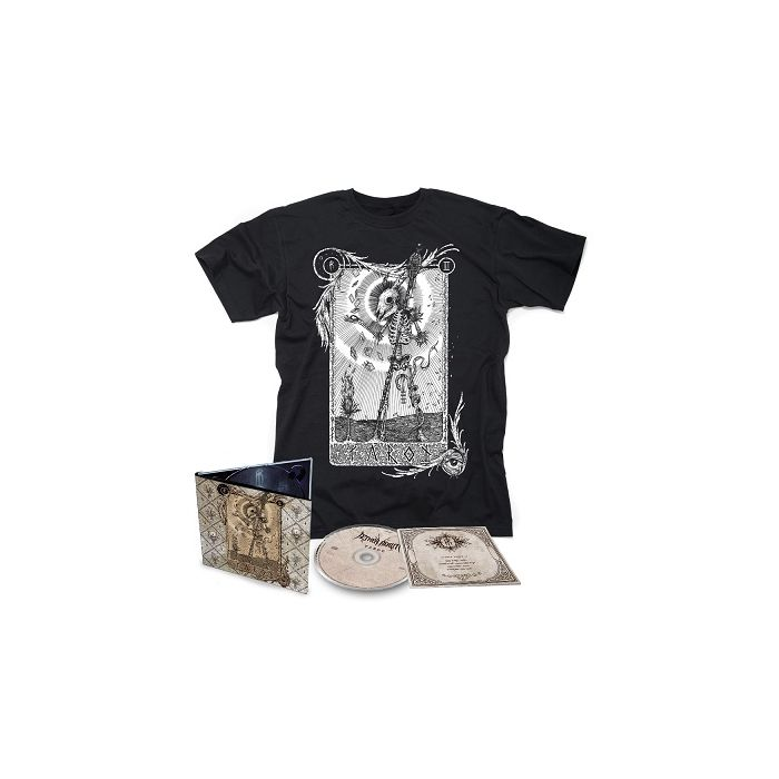 AETHER REALM-Tarot/Limited Edition Digipack CD (2017 Reissue) + T-Shirt Bundle