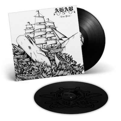 AHAB - Live Prey / BLACK 2LP w/ Etching