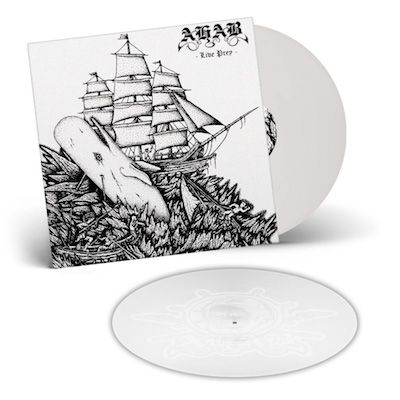 AHAB - Live Prey / WHITE 2LP w/ Etching