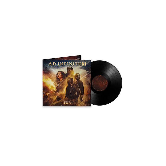 AD INFINITUM - Chapter II - Legacy / BLACK LP PRE ORDER RELEASE DATE 10/29/21