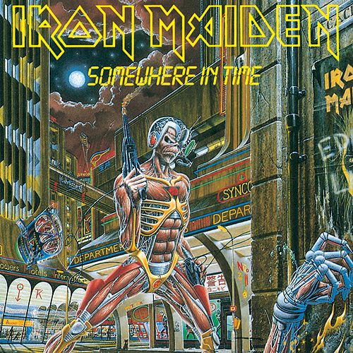 IRON MAIDEN - Somewhere In Time / CD