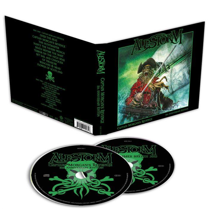 ALESTORM - Captain Morgan's Revenge-10th Anniversary Edition/Limited Edition Mediabook 2CD