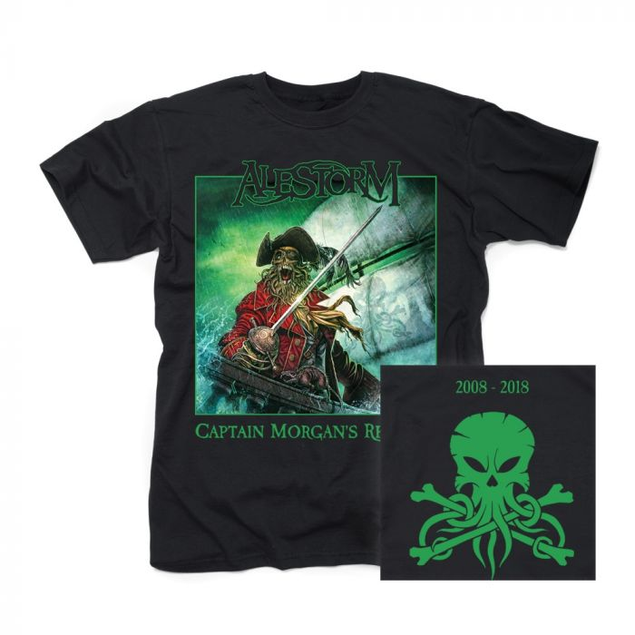 ALESTORM - Captain Morgan's Revenge-10th Anniversary Edition/T-Shirt