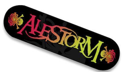 ALESTORM - Curse Of The Crystal Coconut / Limited Edition SKATEBOARD