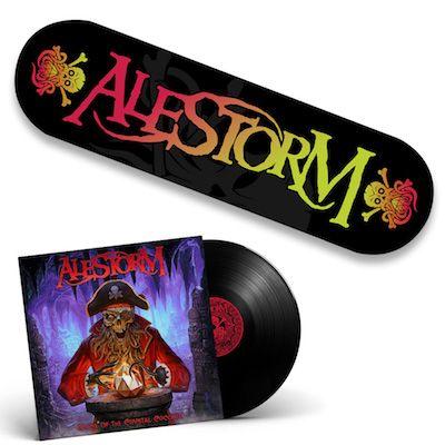 ALESTORM - Curse Of The Crystal Coconut / Black LP + Skateboard Bundle