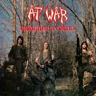 AT WAR - Ordered To Kill / Import Blood Red LP