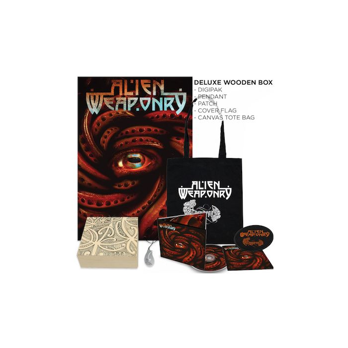 ALIEN WEAPONRY - Tangaroa / LIMITED EDITION WOODEN BOXSET PRE-ORDER RELEASE DATE 9/17/21