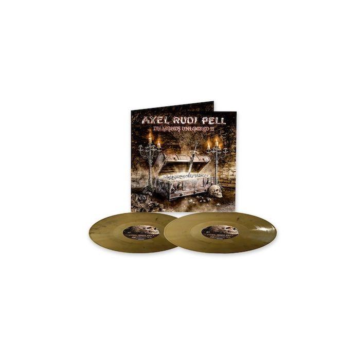 AXEL RUDI PELL - Diamonds Unlocked II / GOLD BLACK MARBLE 2LP
