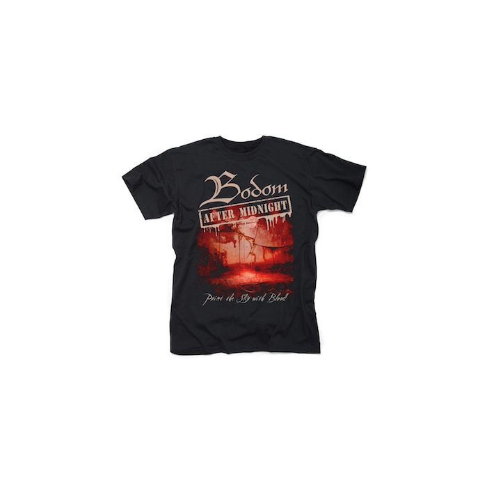 BODOM AFTER MIDNIGHT - Paint The Sky With Blood / T-Shirt