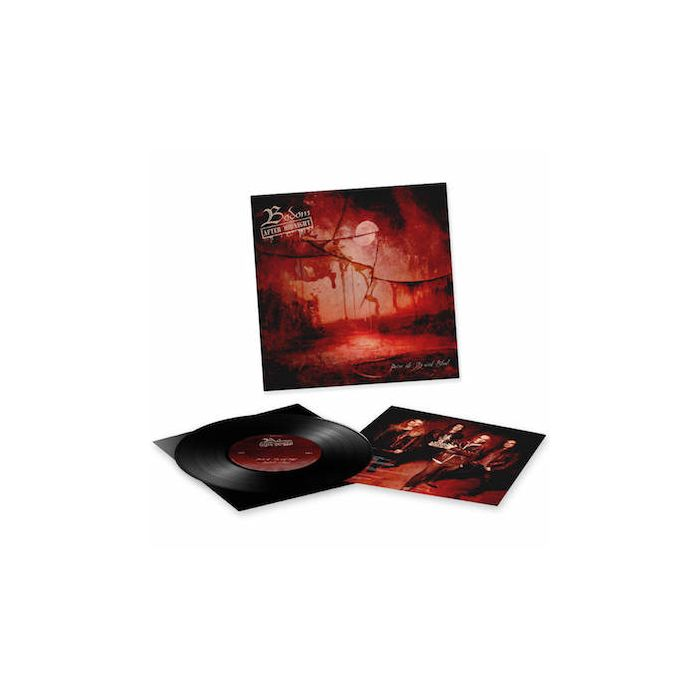 BODOM AFTER MIDNIGHT - Paint The Sky With Blood / BLACK 10 INCH EP BACK ORDERED WILL SHIP BY 5/7