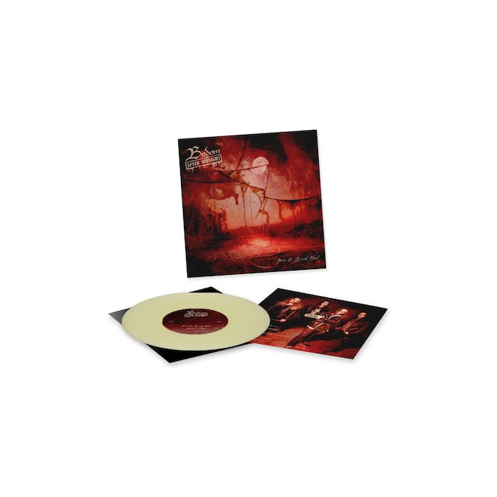 BODOM AFTER MIDNIGHT - Paint The Sky With Blood / LIMITED EDITION GLOW IN THE DARK 10 INCH EP