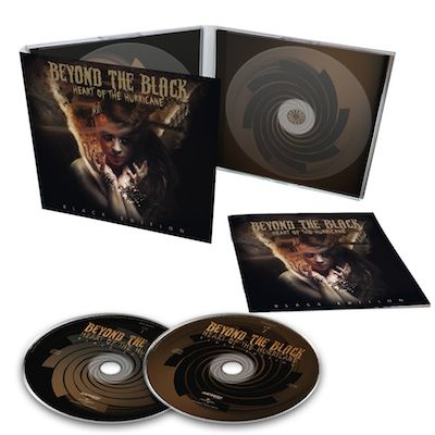BEYOND THE BLACK - Heart of the Hurricane: Black Edition / Digipack 2CD