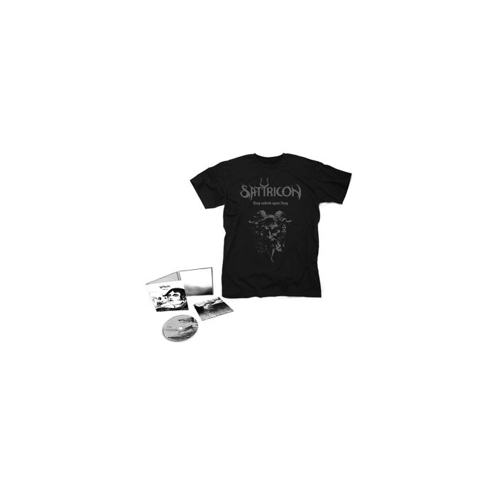SATYRICON-Deep calleth upon Deep/Limited Edition Digipack CD + Devil T-Shirt Bundle