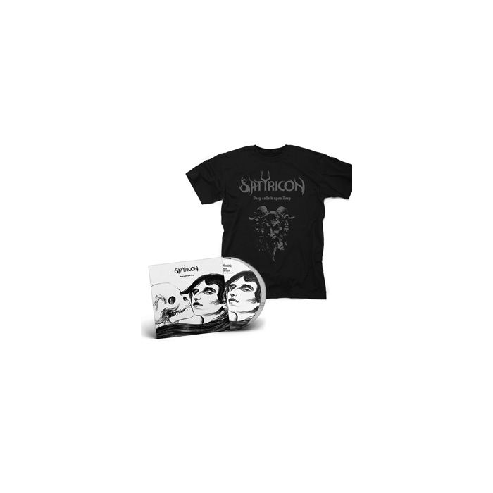 SATYRICON-Deep calleth upon Deep/Limited Edition PICTURE Gatefold 2LP+ Devil T-Shirt Bundle