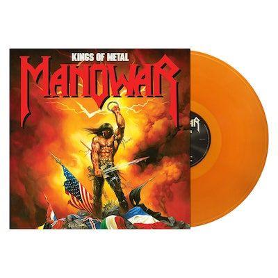 MANOWAR - Kings Of Metal / Clear Gold LP
