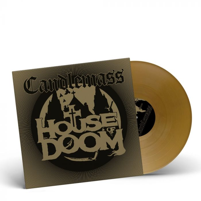 CANDLEMASS-House Of Doom/Limited Edition GOLD Vinyl Gatefold LP EP
