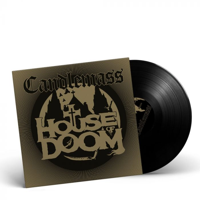 CANDLEMASS-House Of Doom/Limited Edition BLACK Vinyl Gatefold LP EP